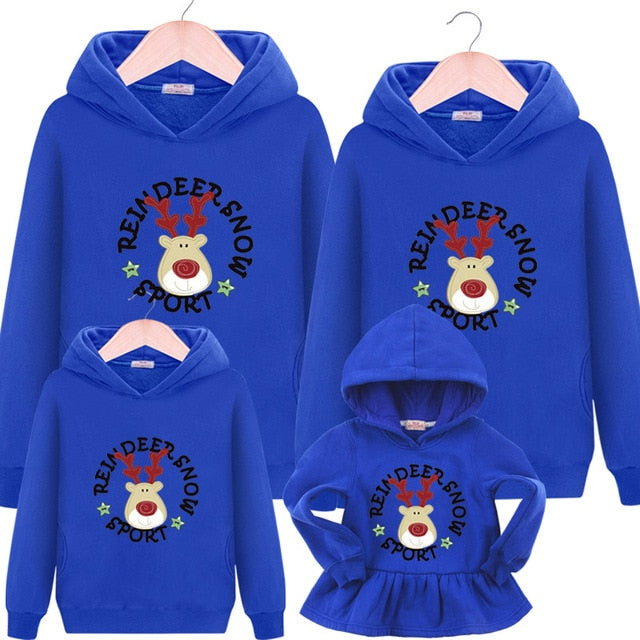 Matching Outfits Family Autumn Hooded Sweater - Narvay.com