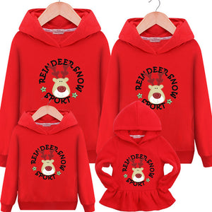 Matching Outfits Family Autumn Hooded Sweater