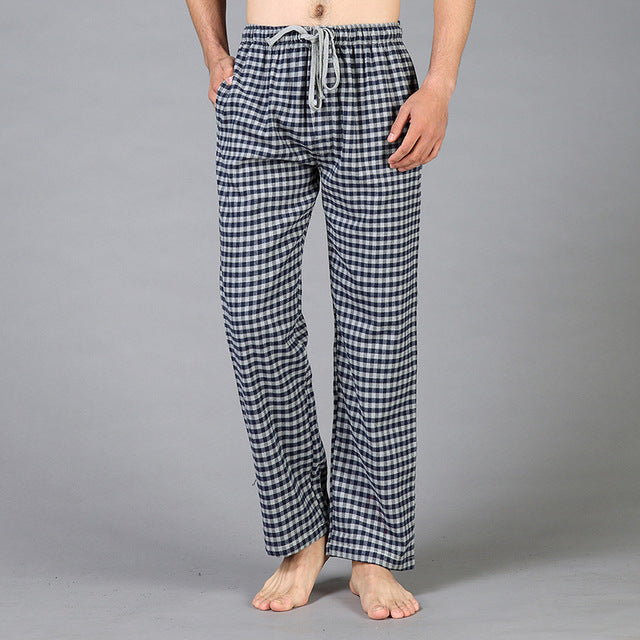 cotton mens sleep bottoms