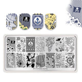 Flower Animals Nail Stamping Plate