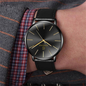Ultra-thin Wrist Watch Men Watch Men's Watch Clock