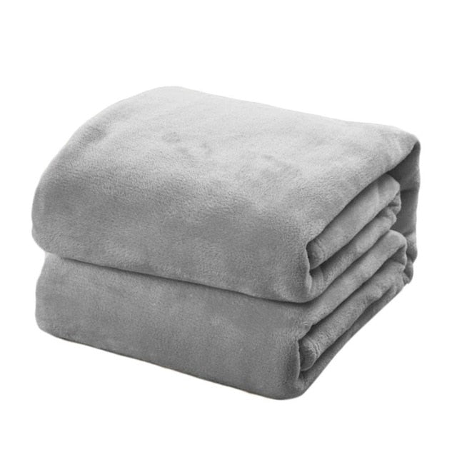 Soft Blanket Solid  Blanket