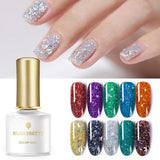 Holographic Sequins Nail Gel Polish
