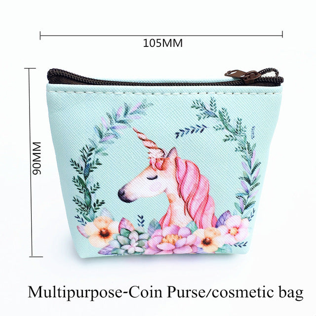 Unicorn Multipurpose Coin Prurse Travel