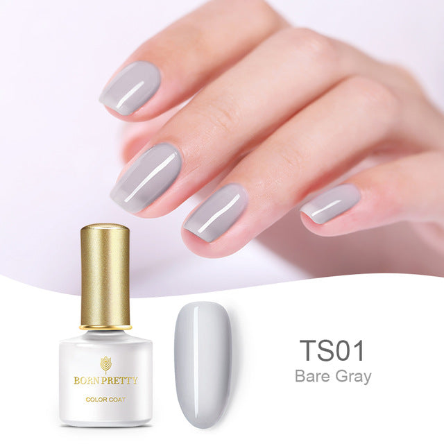Translucent Jelly Nail Gel Polish
