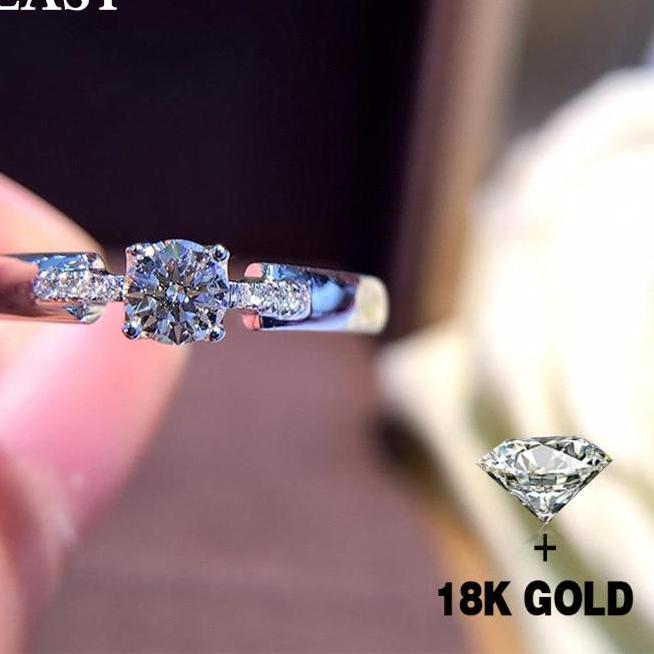 Diamond 18K Gold Pure Ring
