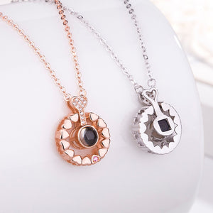 Pendant Necklace Romantic Love
