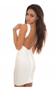 Backless Cocktail Party Dress