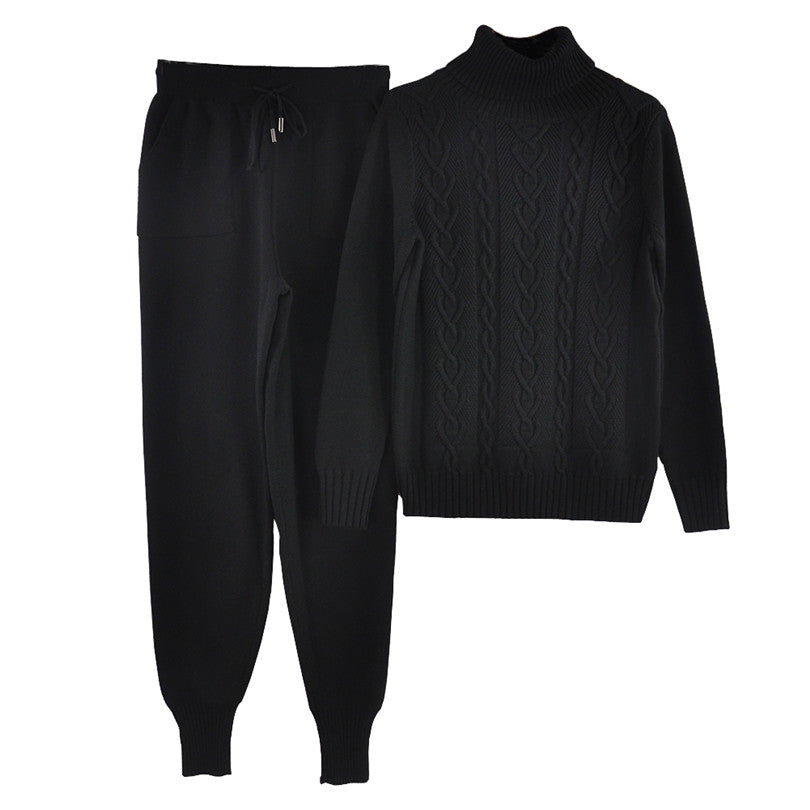 Turtleneck Sweater pants Trousers