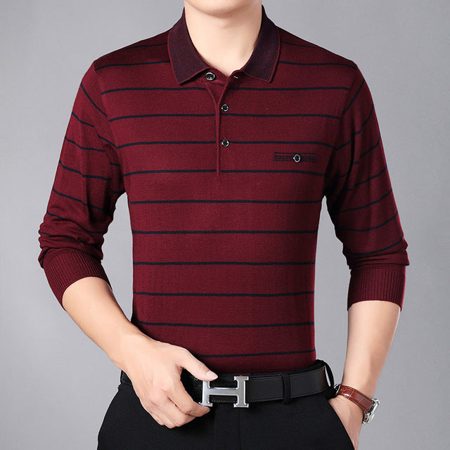 POLO For Mens Pullovers Stripe