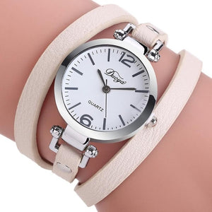 Women Watches Leather Strap Bracelet