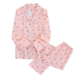 moon pink  pajama sets