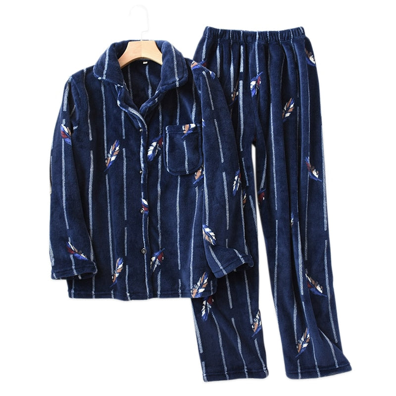 Flannel Couples pajamas sets