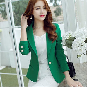 Women Suit Jackets Blazer Office Tops Coats