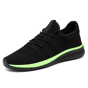 Mesh Mens Shoes Casual Lace-up