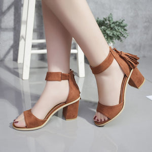 Fashion Tassel Summer Women Sandals