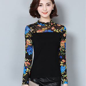 Floral Women Tops And Blouses