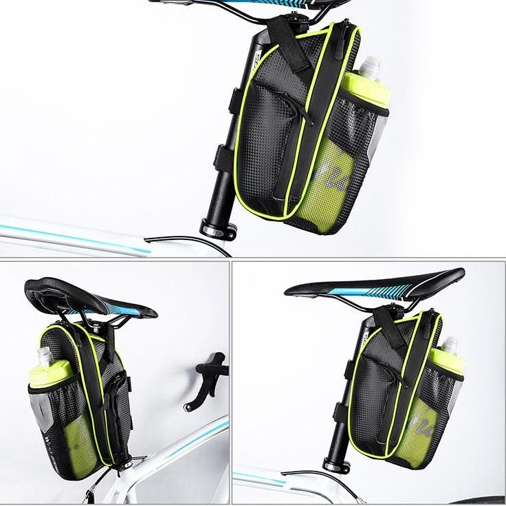 Waterproof Pouch Bottle Bag Bike Saddle