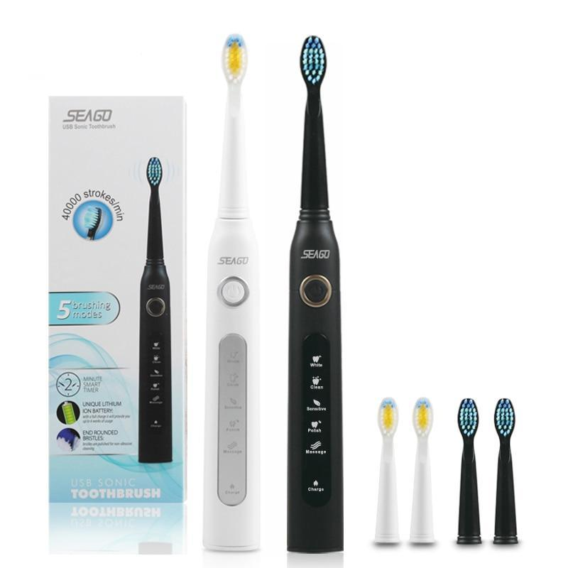 Electric Toothbrush Adult Timer Brush