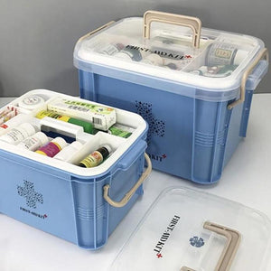Medicine Box First Aid Kit Box Plastic Container