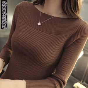 Winter new women collar sweater