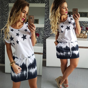 Women Summer Dress Sweet Beach