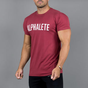 Summer Gyms Tight T-shirt Men Breathable