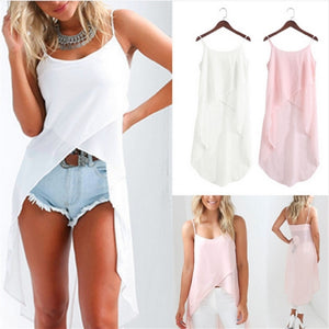 White Pink Summer Autumn Camis Dress Women
