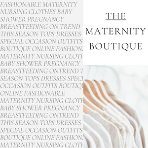 Fashionable maternity and nursing online boutique selling on trend in season maternity dresses, maternity tops, jeans and everything else you could need. We specialise in breastfeeding tops and dresses. UK next day delivery