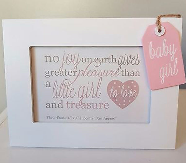 No Joy On Earth Baby Girl Photo Frame