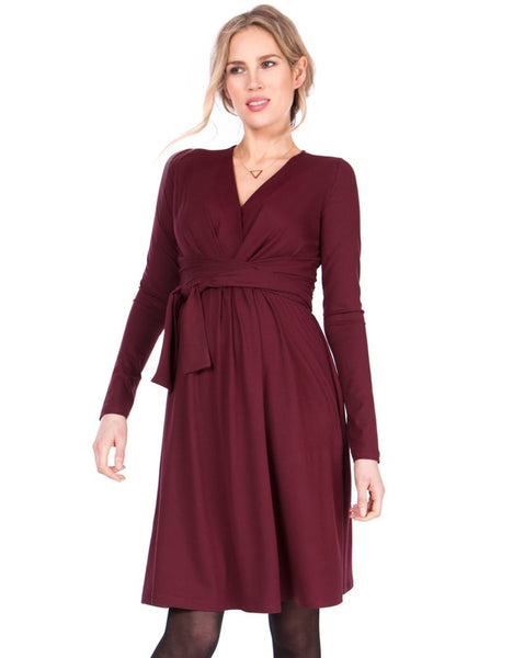 Fashionablypregnant_dote_berry_dress