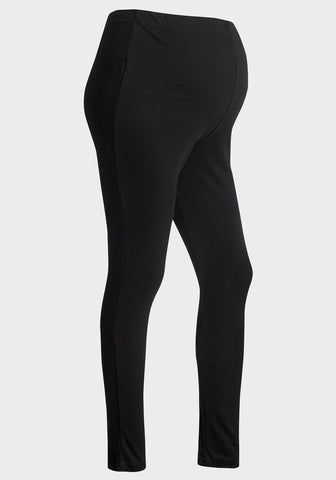 Black Cotton Leggings