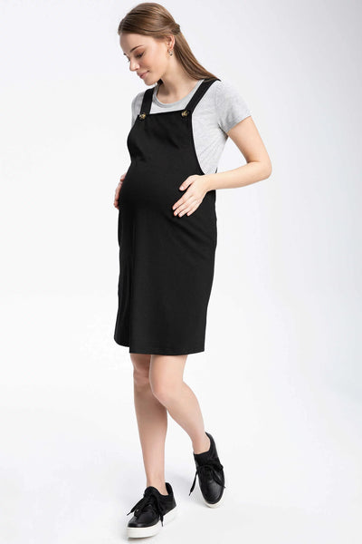 Maternity Pinafore Dress