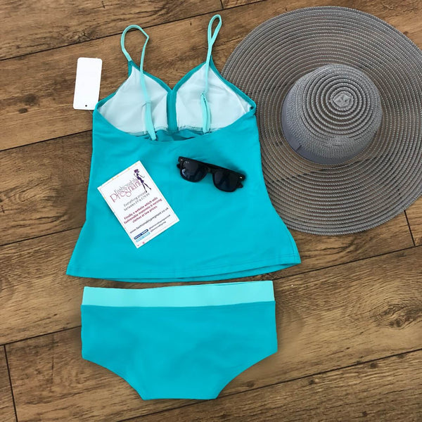 Lucina Tankini Set - Blue