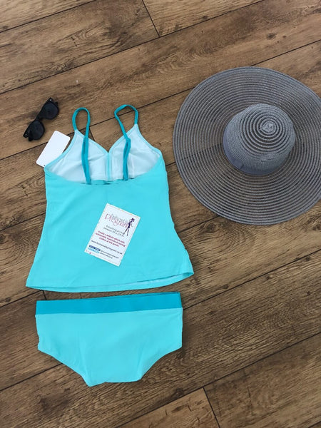 Lucina Tankini Set - Light Blue