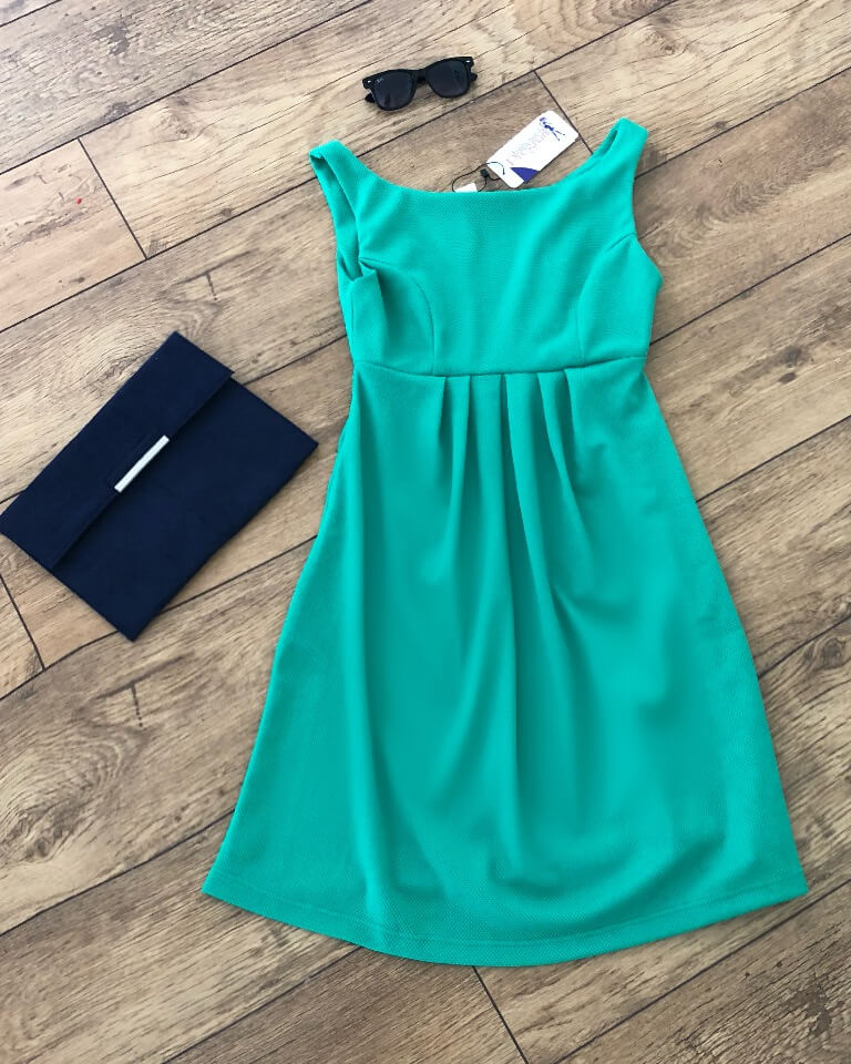 Lucina Maternity Shift Dress - 3 Colour Options Blue/Green/Yellow