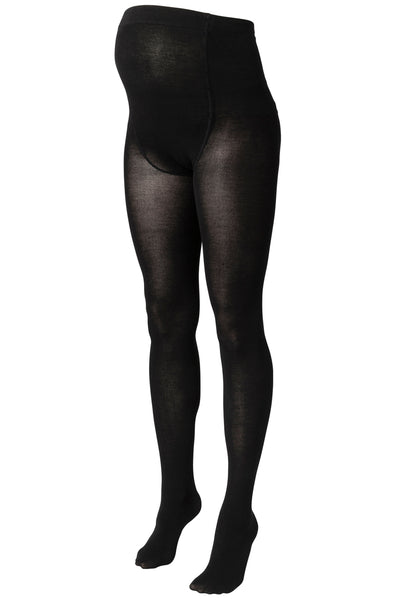 Mamalicious Jennie Black Maternity Tights