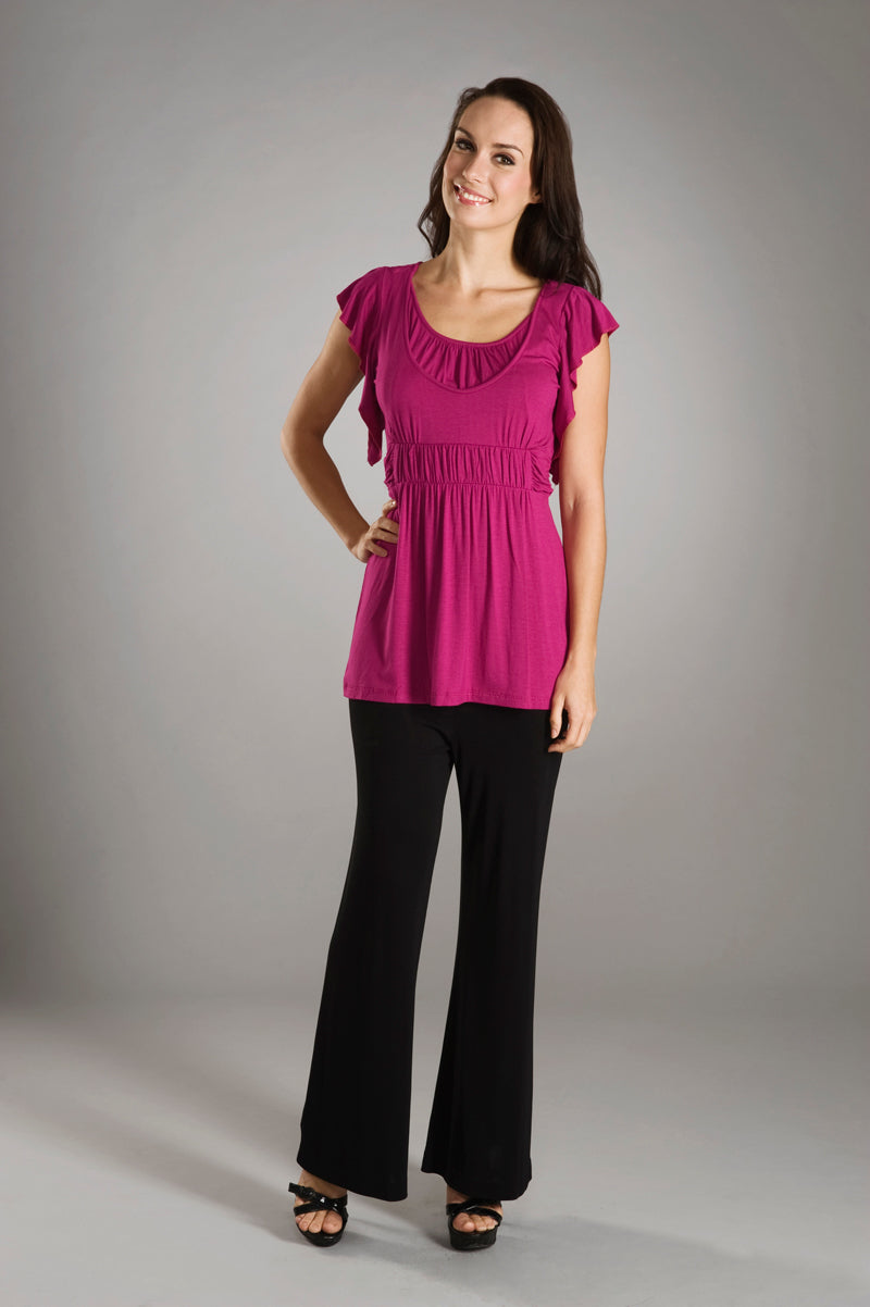 Maternalove Sonia Mulberry Nursing Top