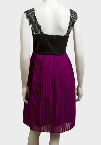 Fashionably_Pregnant_Rock_A_Bye_Rosie_Black_Purple_Maternity_Dress