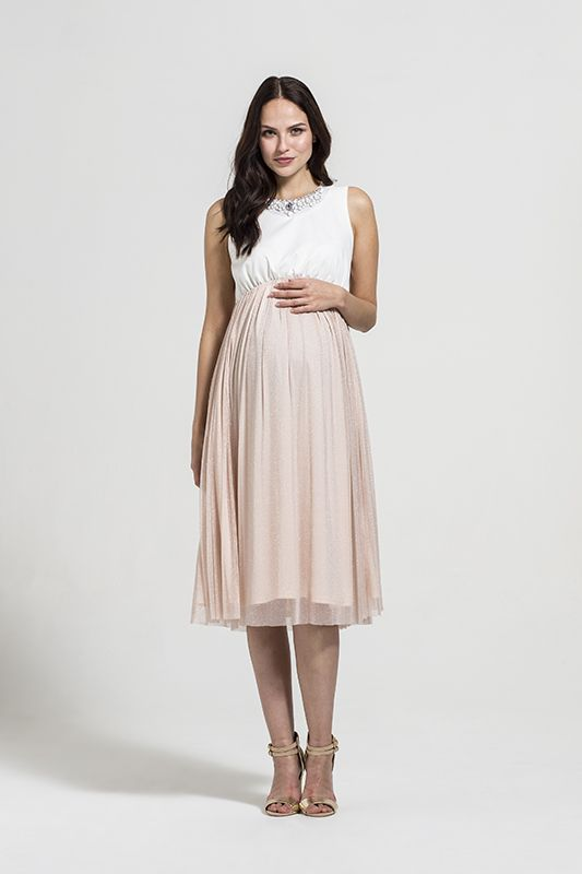 Rock-A-Bye Rosie Tailor Maternity Dress
