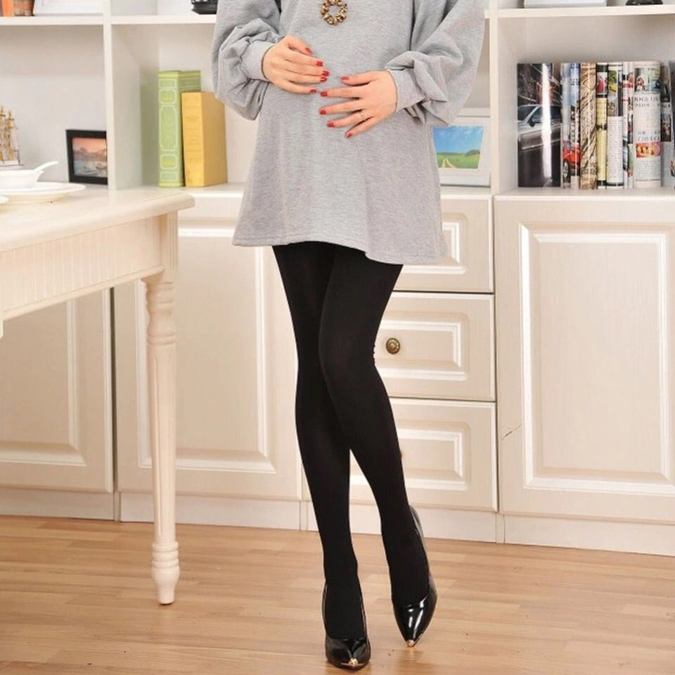 Maternity 120 Denier Black Tights