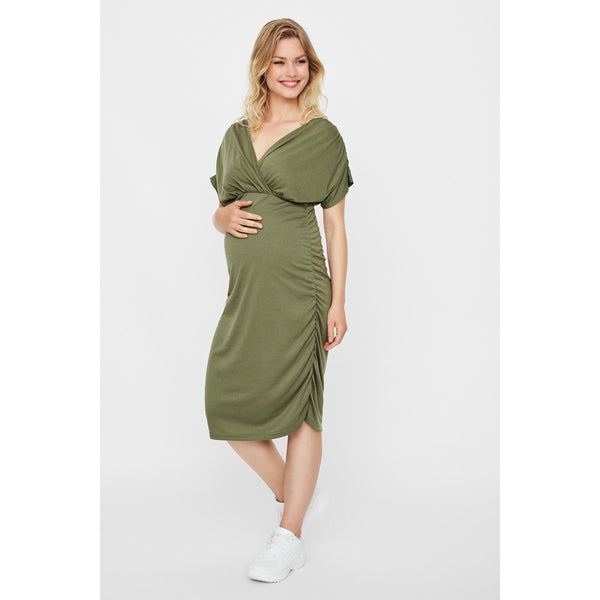 Mamalicious Four Leaf Clover Jersey Dress