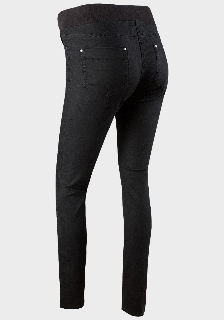 Under the bump black jeggings