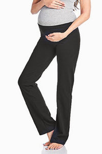 Maternity Over The Bump Yoga Trousers 2 Colour Options