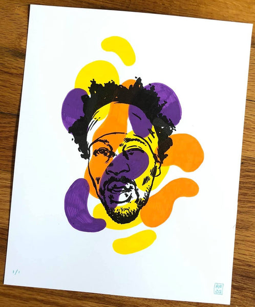 RZA - Hand Painted