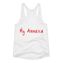 Load image into Gallery viewer, Don't Touch Women's racerback tank
