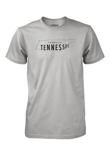 Nashville Outline in LT Gray