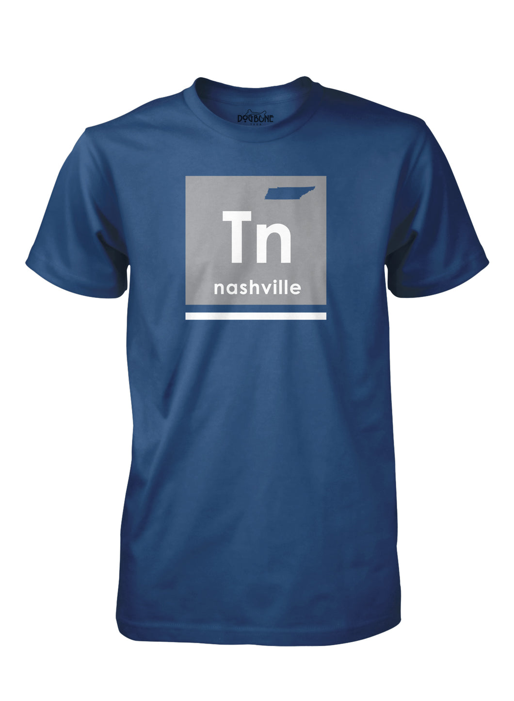 TN Periodic Table in Cool Blue
