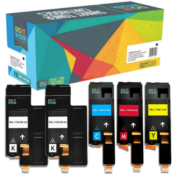 Dell 1250 Toner 5pack ad Alta Capacita