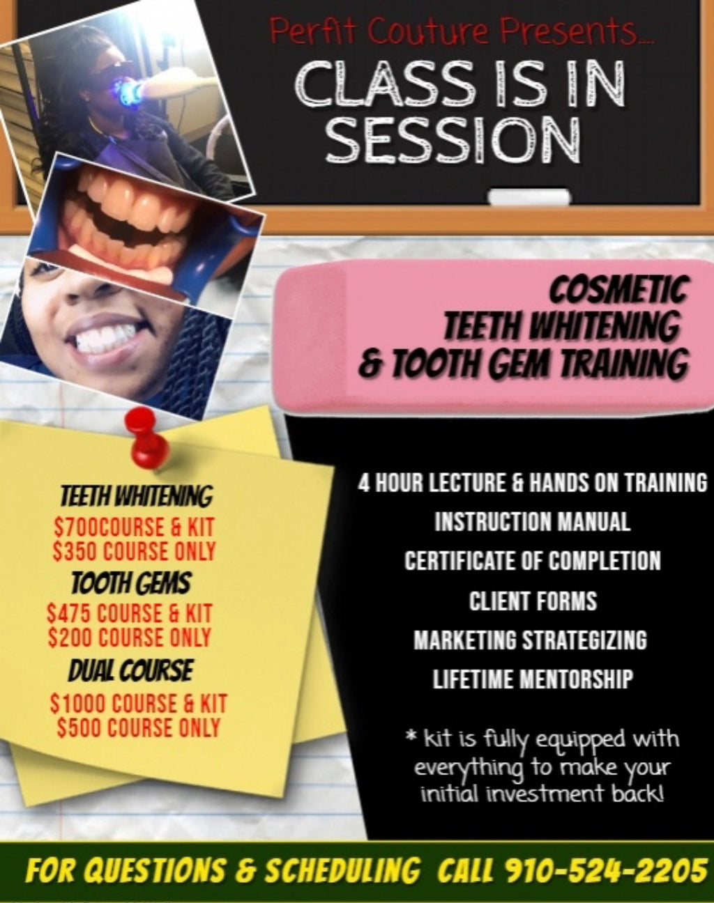 Teeth Whitening Course